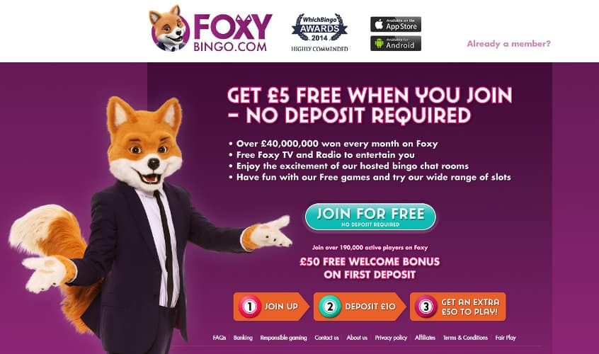 Foxy Bingo Reviews