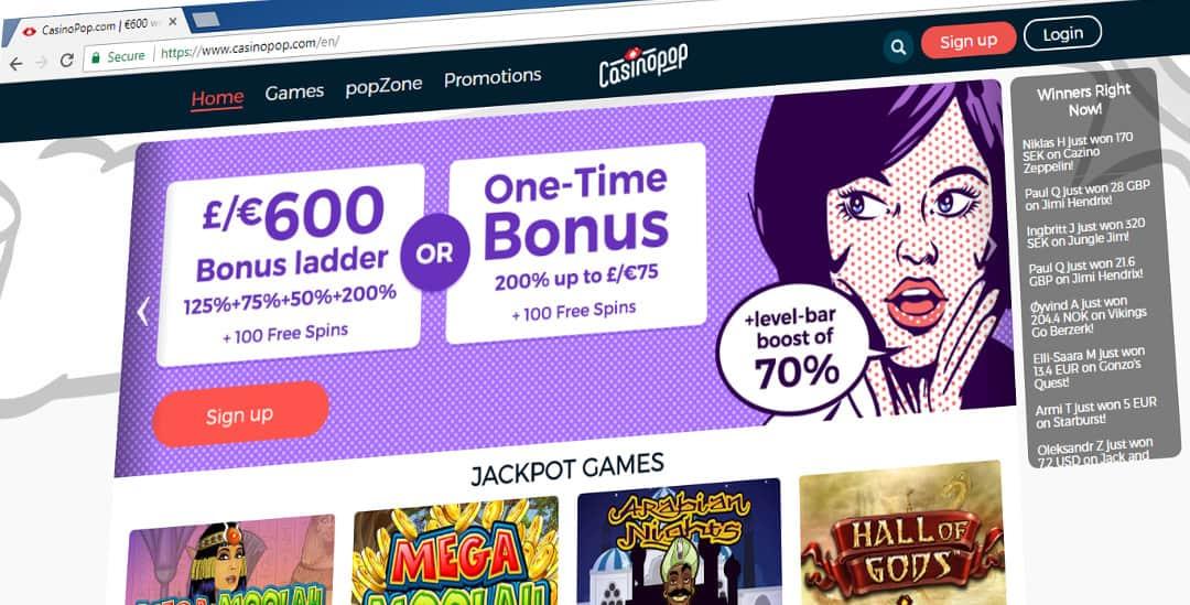 casinopop mobile