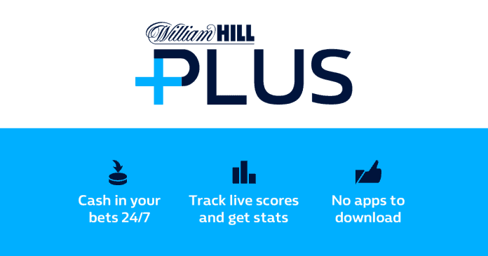 william hill plus card