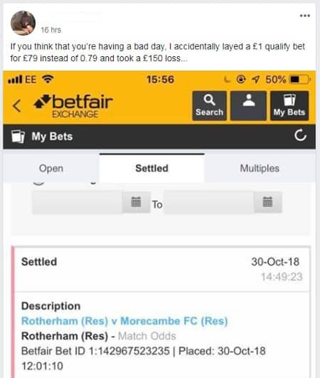 matched betting not risk free