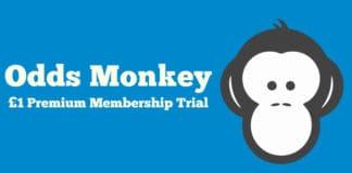 oddsmonkey £1 trial premium membership