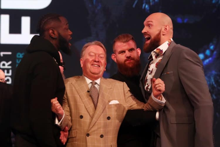 fur v wilder betting odds tips predictions